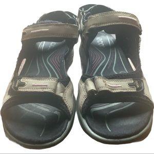ECCO Womens Yucatan Sandals Size EUR 39 / US 8-8.5